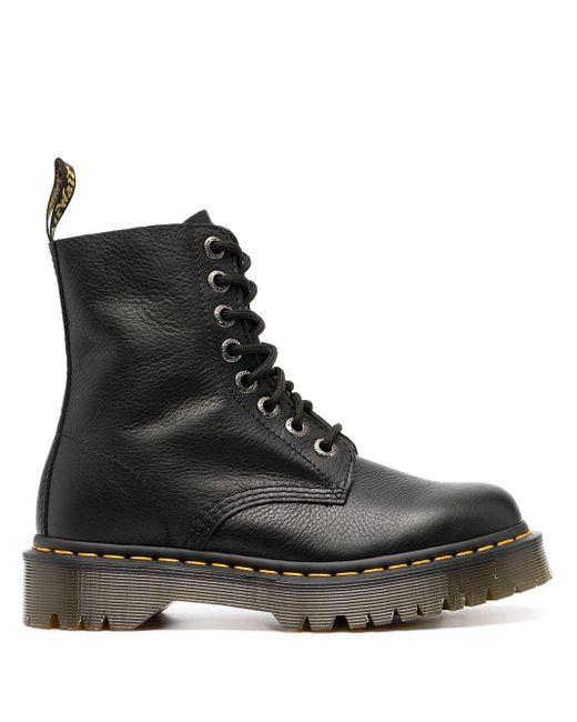 Ботинки На Шнуровке Dr. Martens, цвет: Black