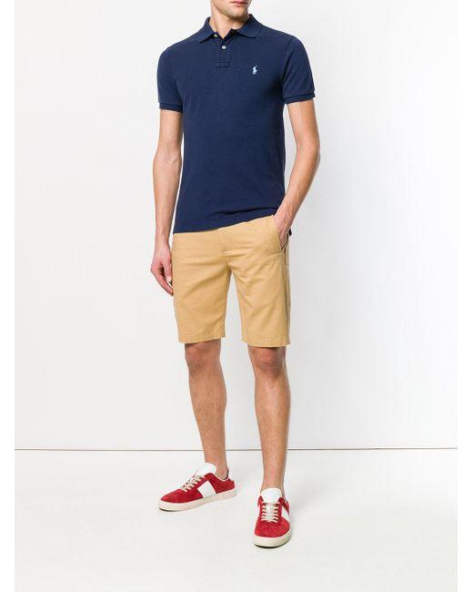 メンズ Polo Ralph Lauren クラシック ポロシャツ Blue