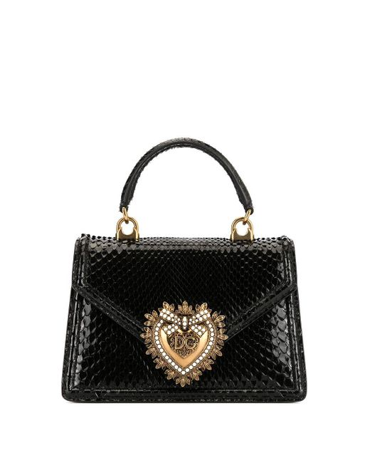 Dolce & Gabbana Devotion ハンドバッグ Black
