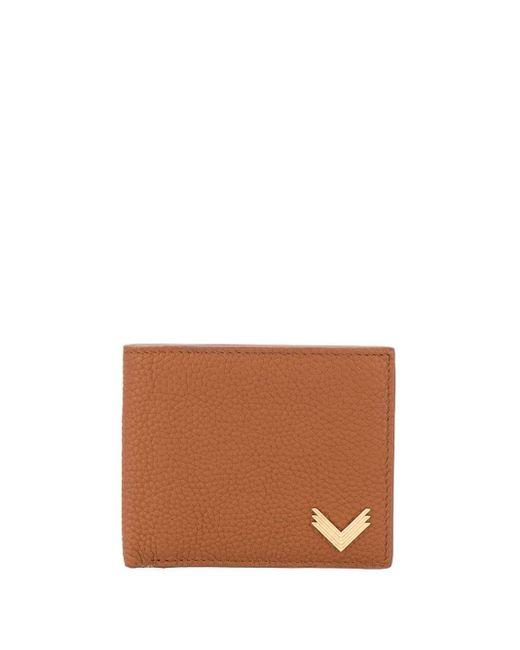 Manokhi カードケース Brown