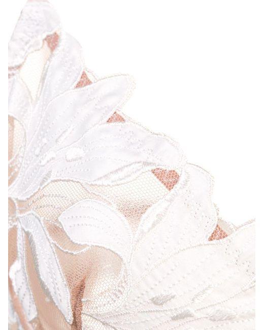 Fleur du Mal Lily Lace Demi ブラジャー White