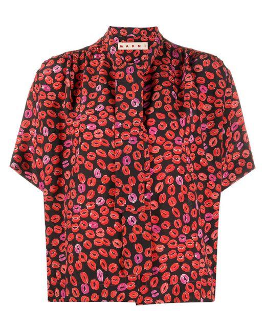 Marni プリント シャツ Multicolor