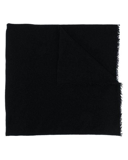 Faliero Sarti カシミア スカーフ Black