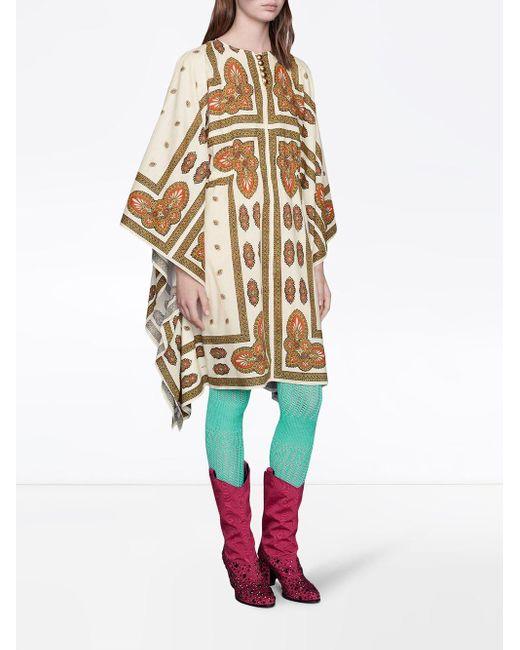 Gucci フローラル カフタン Multicolor