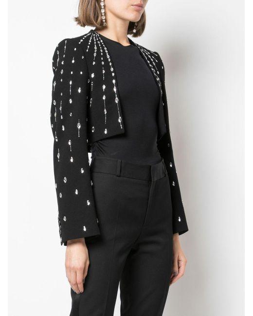 Givenchy クロップドジャケット Black