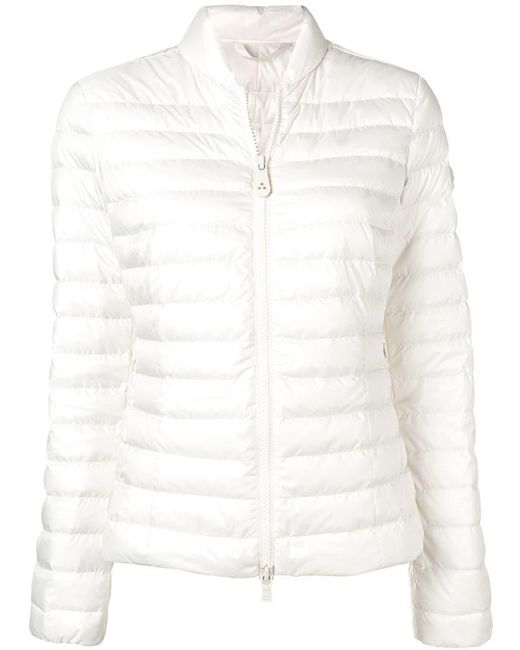 Peuterey - White Slim-fit Padded Jacket - Lyst
