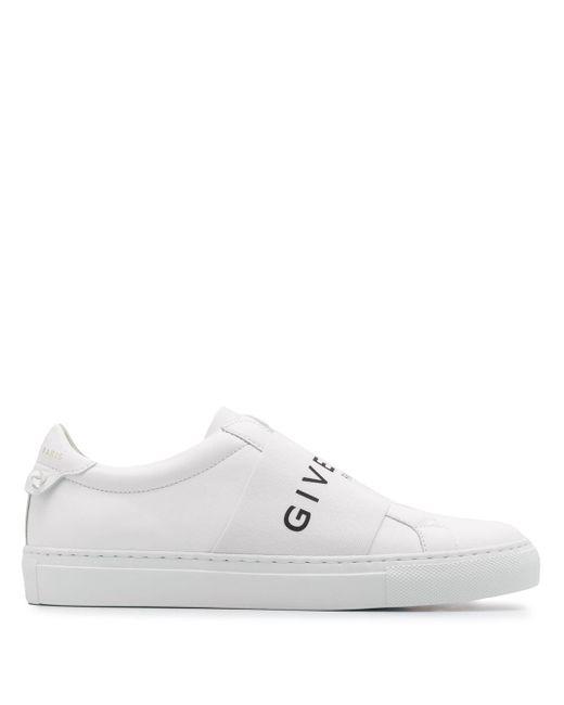 Givenchy ホワイト エラスティック Urban Knots スニーカー White
