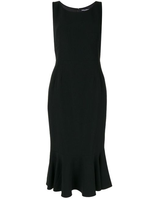 Dolce & Gabbana ノースリーブ ドレス Black