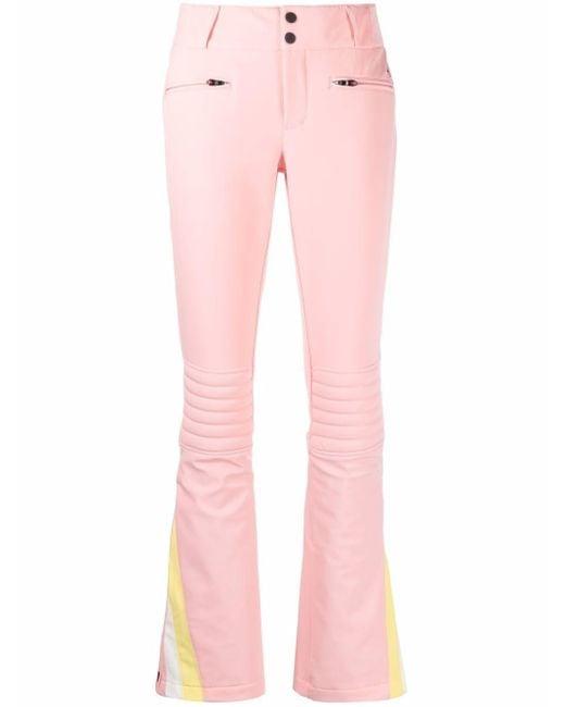Расклешенные Брюки С Узором Шеврон Perfect Moment, цвет: Pink