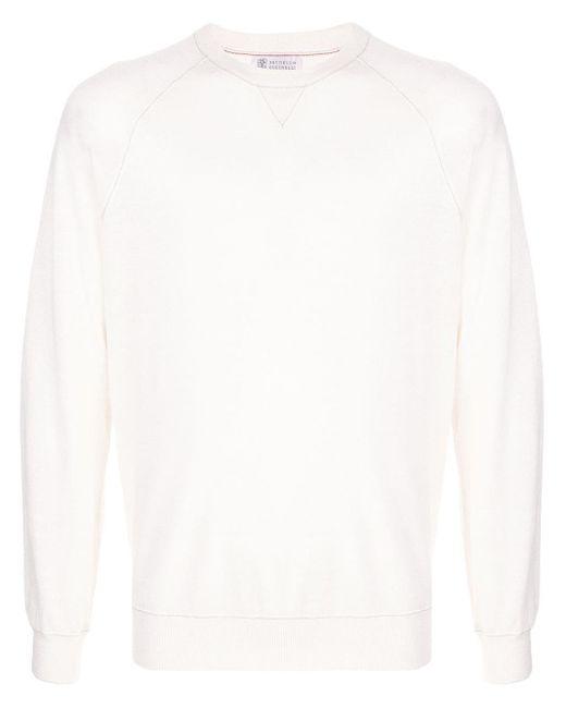 メンズ Brunello Cucinelli スウェットシャツ White