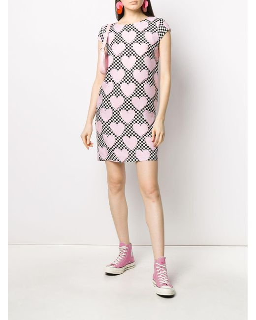 Love Moschino ハートプリント Tシャツワンピース Pink