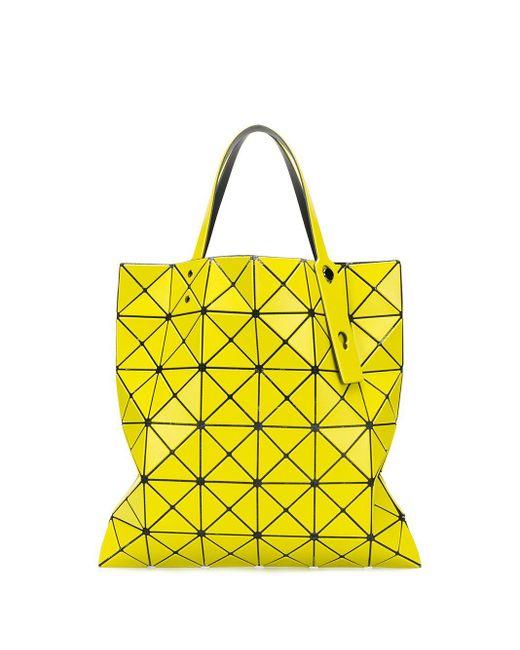 Сумка-шопер Prism Bao Bao Issey Miyake, цвет: Yellow