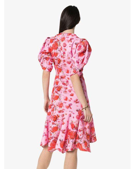 Peter Pilotto フローラル ドレス Pink