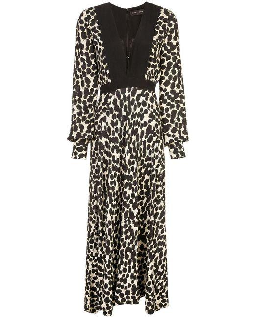 Платье В Горох С Длинными Рукавами Proenza Schouler, цвет: Black