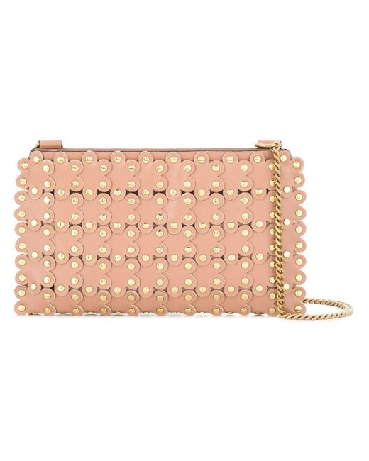 RED Valentino Flower Puzzle ショルダーバッグ Pink