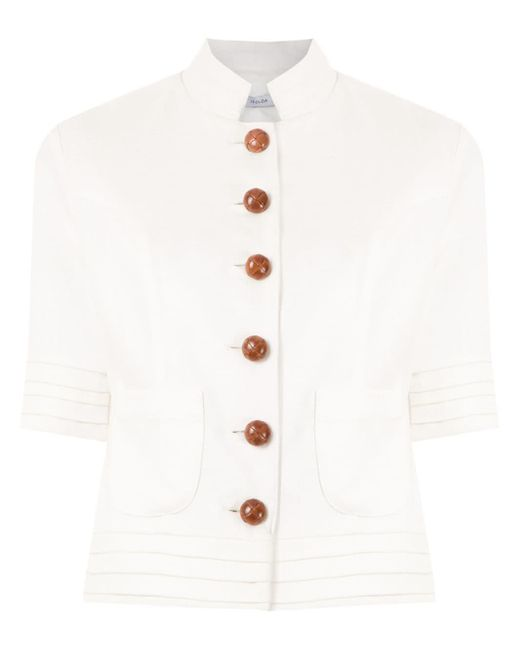 Manteau Arpoador Isolda en coloris White