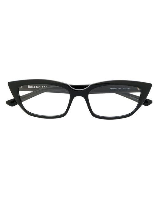 Balenciaga キャットアイ 眼鏡フレーム Black
