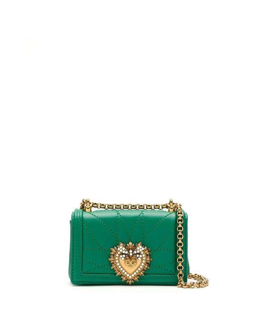 Dolce & Gabbana Devotion バッグ ミニ Green