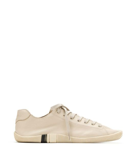 Osklen Leather Sneakers Natural