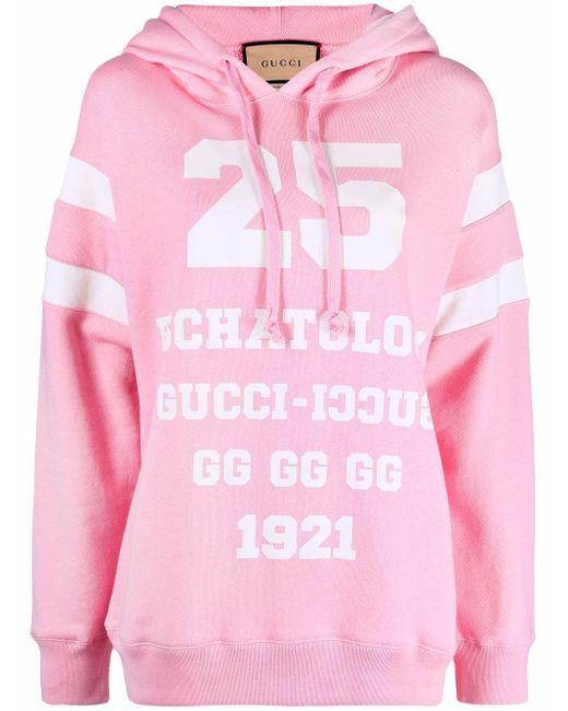 Hoodie Eschatology 25 Gucci en coloris Pink