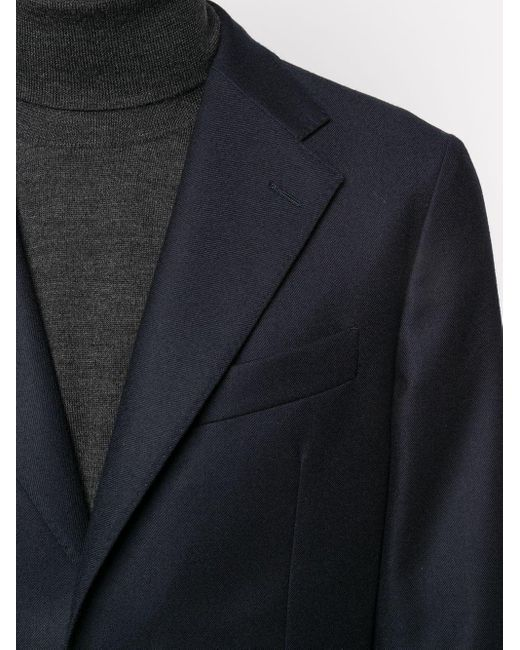 メンズ Fay シングルジャケット Blue