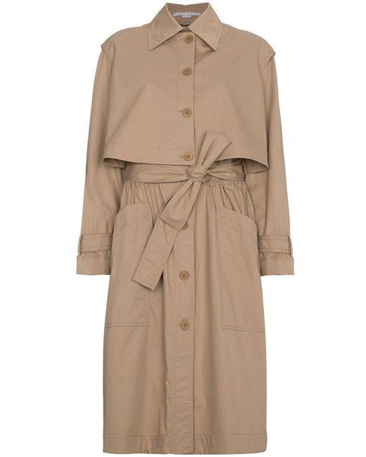 Stella McCartney - Brown Hailey Trench Coat - Lyst