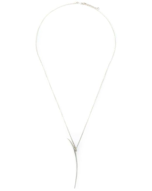 Shaun Leane Metallic Long 'quill' Necklace