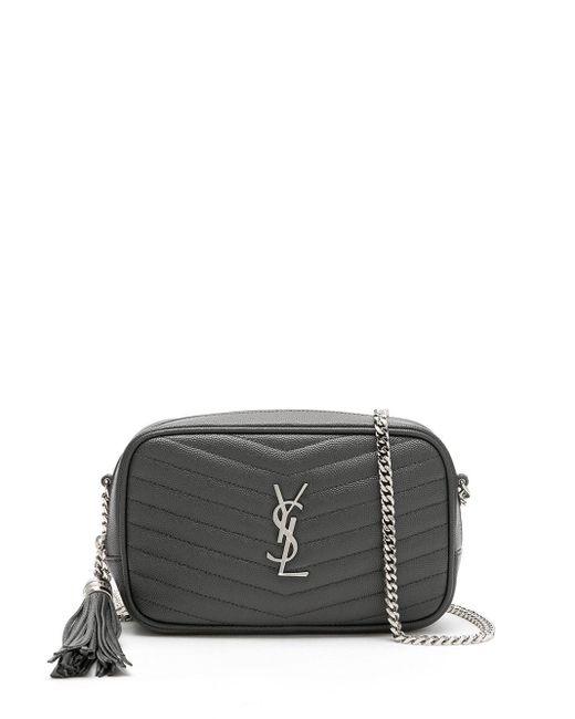 Мини-сумка Lou Saint Laurent, цвет: Gray