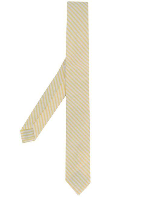 メンズ Thom Browne ストライプ ネクタイ Yellow