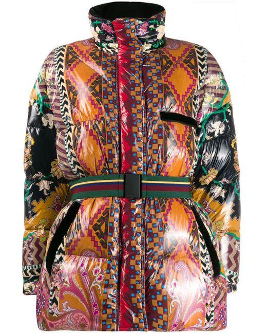 Etro Dorset マルチプリントダウンジャケット Multicolor