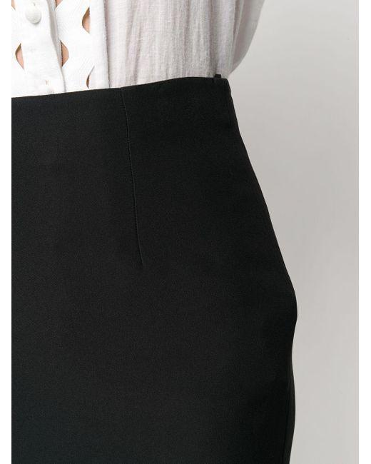 Юбка-карандаш Alexander McQueen, цвет: Black