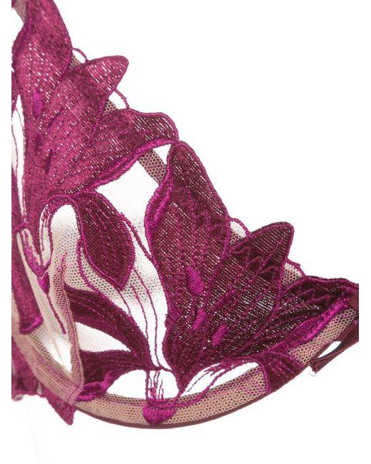 Fleur du Mal Lily ブラ Purple