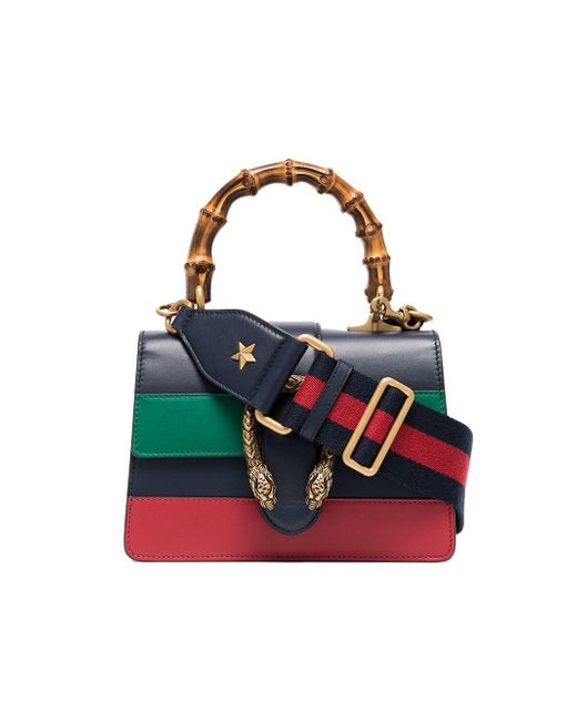 baed8e04f Gucci Blue Green And Red Dionysus Mini Top Handle Bag in Blue - Save ...