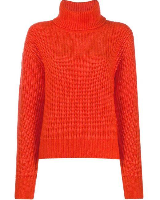 Essentiel Antwerp Toper セーター Red