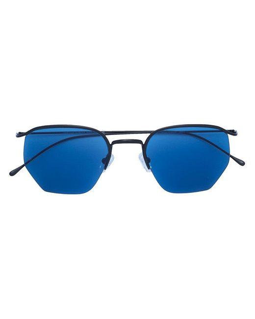 52be39290c3 Smoke X Mirrors - Blue Tinted Sunglasses - Lyst ...