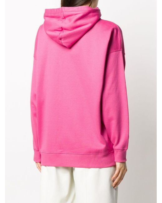 Valentino Vロゴ パーカー Pink