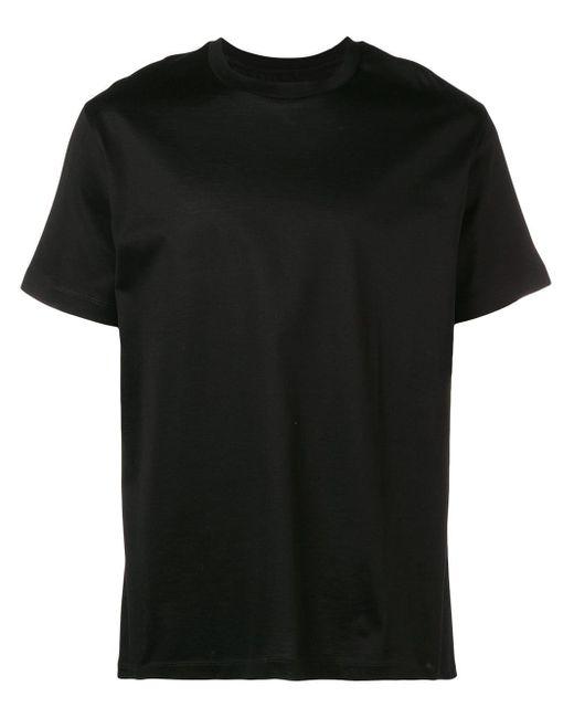 メンズ Les Hommes プリント Tシャツ Black