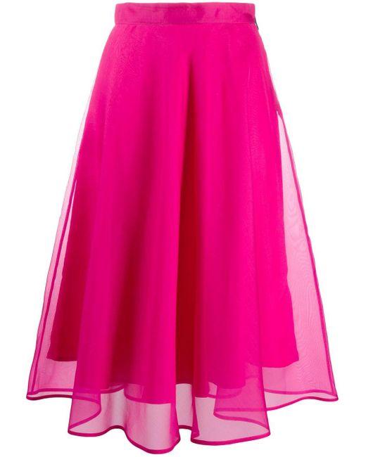 MSGM ハイウエスト スカート Pink