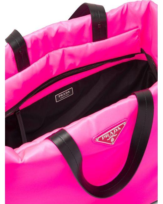 9e4c17a8b8 Women's Pink Medium Padded Nylon Tote
