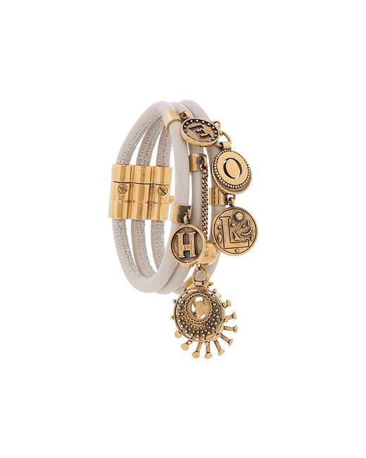 Chloé - Metallic Gold-tone Embellished Bracelet - Lyst