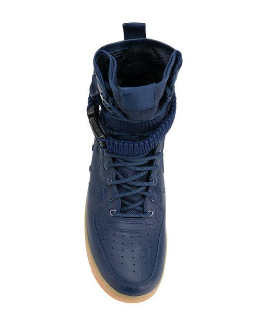 Sf Air Force 1 Sneakers Nike для него, цвет: Blue