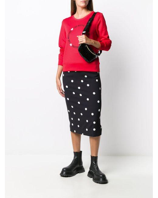 Love Moschino ロゴ スウェットシャツ Multicolor