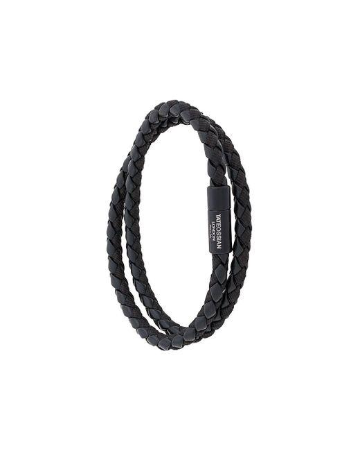 Tateossian Black Chelsea Bracelet