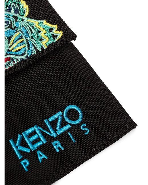 Картхолдер Со Шнурком На Шею И Логотипом KENZO для него, цвет: Black