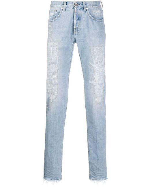 メンズ Eleventy ストレートジーンズ Blue