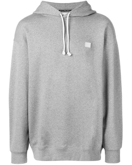 Acne オーバーサイズ スウェットシャツ Gray