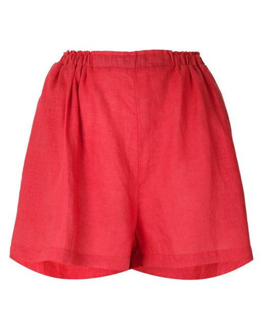 Clube Bossa Mandoline ショートパンツ Red