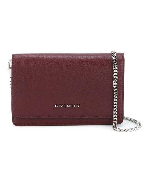 Givenchy | Red 'pandora' Crossbody Bag | Lyst