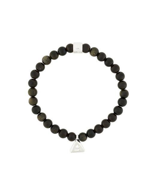 Northskull - Black Trigonum Charm Bracelet for Men - Lyst