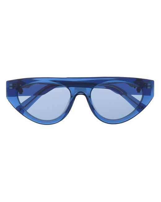 Karl Lagerfeld Ikonik Metropolis サングラス Blue